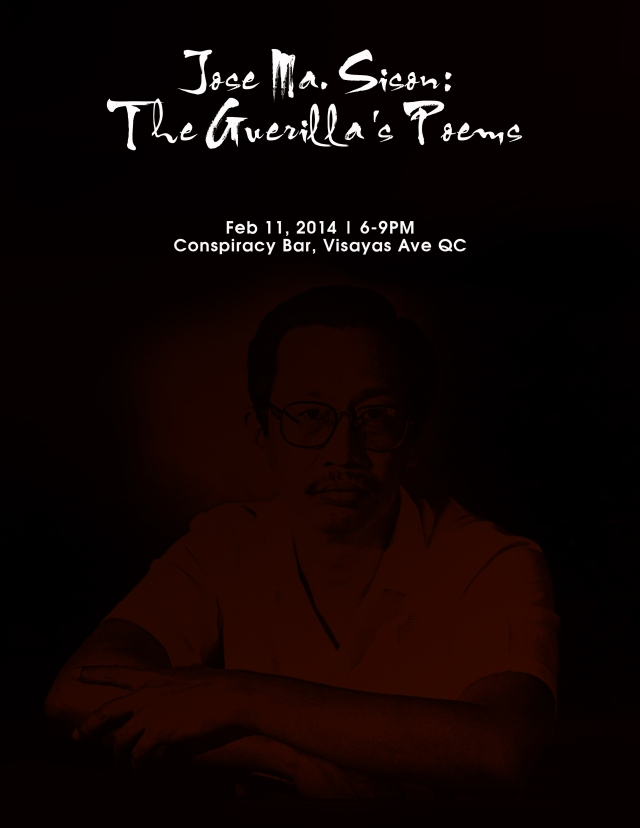 Jose Ma. Sison: The Guerilla's Poems